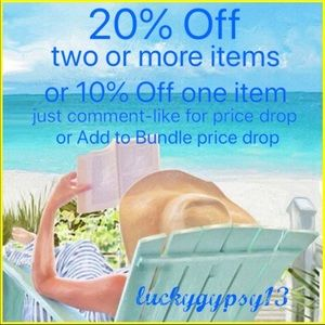 20% Off 2 or More - 10% Off One Item